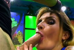 Adreena winters gets gangbang and dp with cumshots