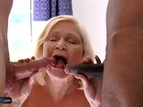 AgedLovE Busty Mature got Two Dicks to Suck Dry
