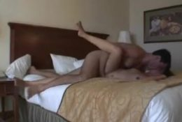 Amateur couple on action – homemade