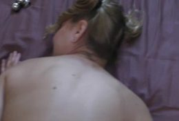 Amateur wife fucked in the ass with butt-plug and beads