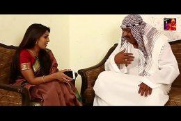 Arab Sheikh kissing pressing boobs