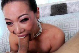 Asian Hottie Throated