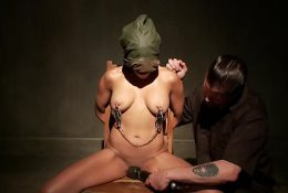 BDSM slave whipped into shape by her strict master