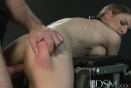 BDSM XXX Sexy young Italian sub gets her arse hole and mouth fucked