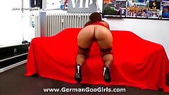 Beautiful Sanny gets her big ass pounded hardcore