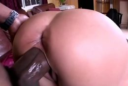 Big Black Cock makes her squirt