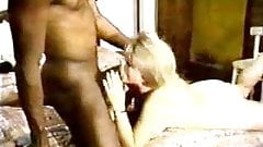 Blonde white wife with black lover – Homemade Interracial Cuckold Vintage