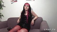Casting anal jeune punk prise en double penetration