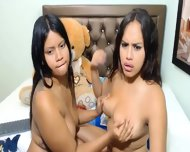 Colombian Girls Peimelax   Kiylax (18) Having Fun In Bed
