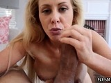 Creampie cuckold milf and french family Cherie Deville in Im
