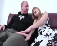 Dad Fucks With 18yr Old Skinny Step Daughter And Facial