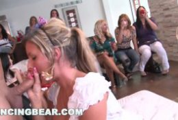 DANCING BEAR – Insane Bachelorette Party Ends Up With CFNM Orgy
