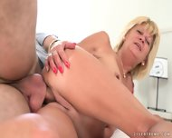 Dose Of Satisfaction For Mature Blonde
