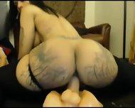 Ebony Slut Hot Squirt