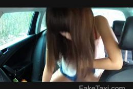 FakeTaxi – Japanese tourist with tight pussy