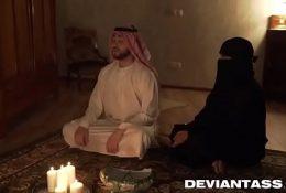 Fucking my arab wife alone in bedroom.