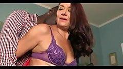 Horny Granny and BBC Creampie