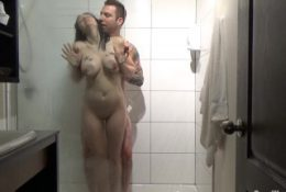 Hotel Shower Sex With Hot Busty Young Mom Ends With A Facial Cumshot