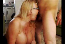 I deepthroat a masked guys cock and take a facial  – Hotnewcouples.com