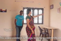 Indian house owner Wife Cheat – When Absence Her Husband
