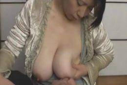 Japanese boy like Milf's big white breast – Pt2 On HDMilfCam.com