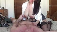 Kelly Hart fucking and lactating!