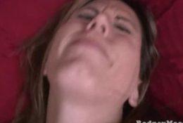 Kya Dakota Hairy Chubby MILF Gangbang Cleanup