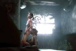 Lesbian ass eating between Tess (The Last of Us) and Zoey (Left 4 Dead)