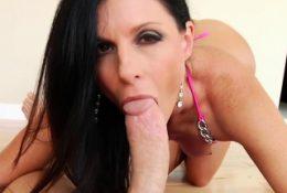 Long dick surprised a brunette sweetie