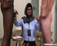 Mia Khalifa Is Milking Dicks