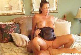 MILF Romp – Son Caught Mom Margo Sullivan in Bed