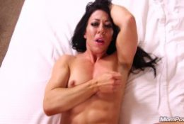 Muscle MILF Amateur Anal POV and Facial