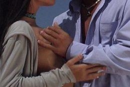 Mya Diamond Teaches Lesson To Zoltan Kabai With Her Nipples