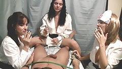 Nurse Handjob: Smoking and a Handjob