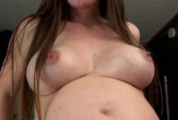 Preggo Mommy Pornstar Fucks Son's Big Cock – Taboo Pregnant Mom Kristi
