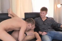 Pretty russian brunette maiden Kristall Rush banged by bf