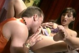 Sexy Brunette Ashley Loves To Take Down A Cock