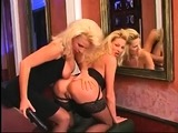 Stockings lesbians lick pussies