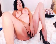 Sultry Canadian Mom With Huge Tits And Natural Bush
