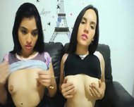 Venezuelan Girls In Awesome Lesbian Show