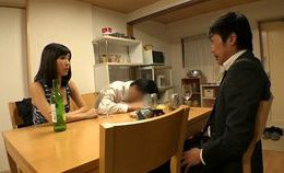A Japanese Typical Cuckold Scene