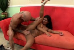 Adorable Latina amateur fucked hard by a big dick