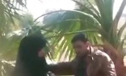 Arab Give Head On Park