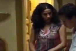 Arab mother with Her Son Movie Scene الأم الخطوة العربية مع ابنها