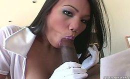 Asian Nurse Interracial