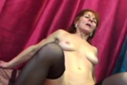 Babe with small tits riding cock