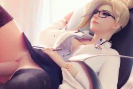 Big tits sex dolls enjoy hard pussy drilling time