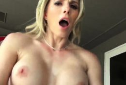 Blonde milf sucks young cock Cory Chase in Revenge On