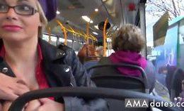 Bus Blowjob 2