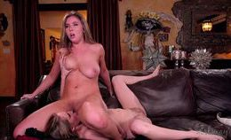 Cadence Lux And Lena Paul Girls Way In Squirting Surprise